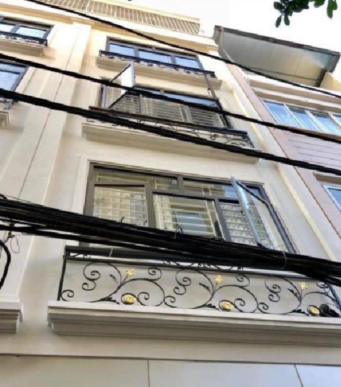 An Cư–Lạc Nghiệp. Bán nhà mới 5 tầng, ngõ ô tô tránh, vỉa hè, thang máy Ngụy Như Kon Tum