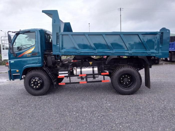 Xe Ben FD650 Euro4, Tải Trọng 6500KG, 5.4 khối, Hỗ trợ trả góp ưu đãi