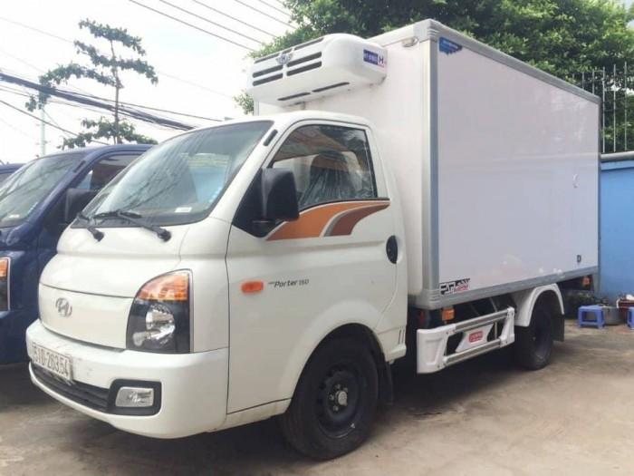 Hyundai 1.5 Tấn Thùng Đông Lạnh Trả Góp