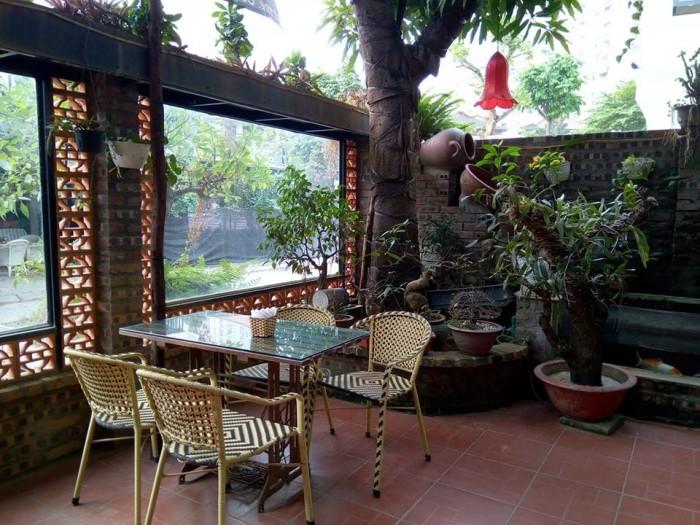 Sang nhượng quán cafe sân vườn TDT 200 m2 (sân vườn & nhà 100 m2) MT 14 m khu đô thị Văn Khê Q.Hà Đông HN