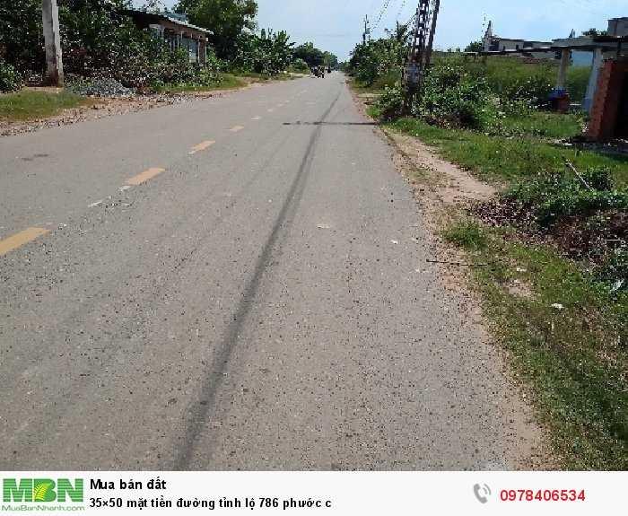 35×50 mặt tiền đường tỉnh lộ 786
