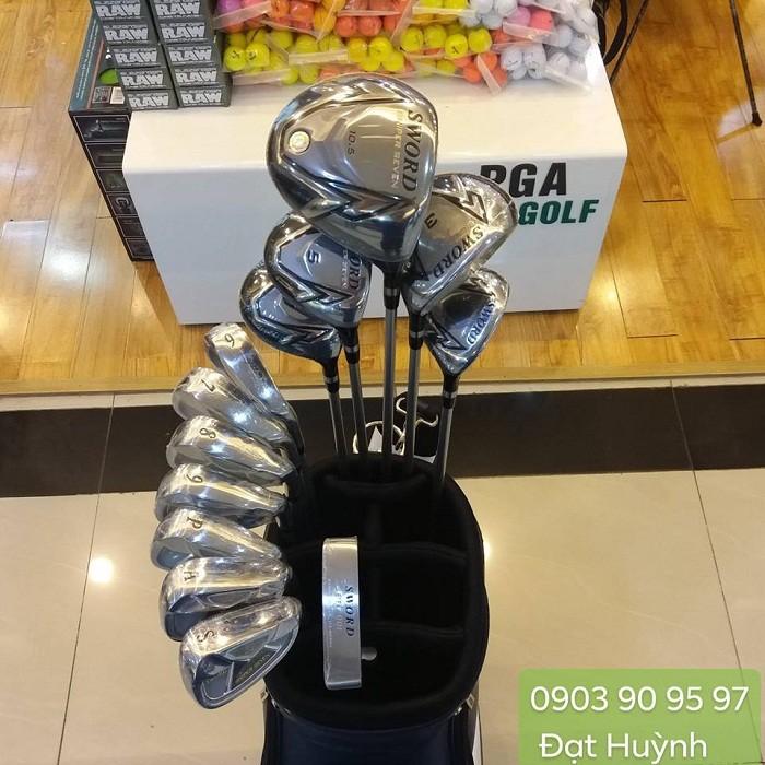 Bộ gậy golf Sword Katana mới 100% chính hãng Nhật Bản0