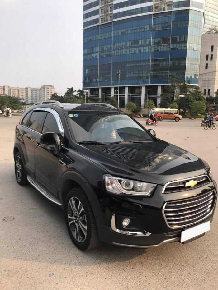 Cần bán xe Chevrolet Captiva Ltz 2016 tự động màu đen cọp 3