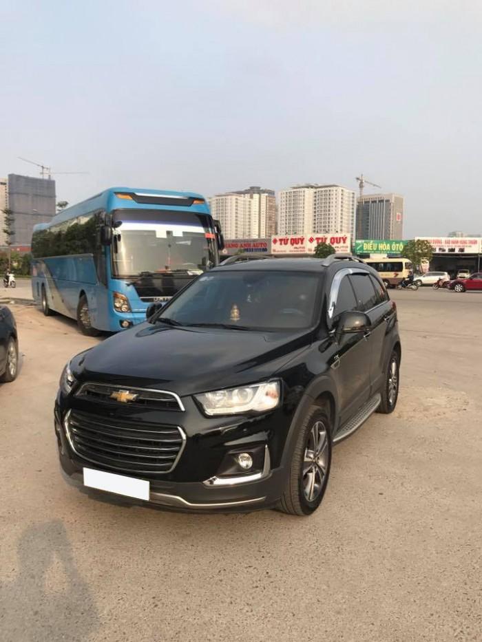 Cần bán xe Chevrolet Captiva Ltz 2016 tự động màu đen cọp 5