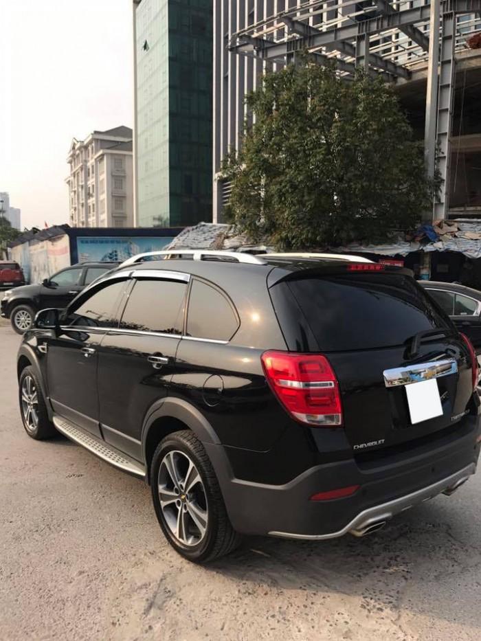 Cần bán xe Chevrolet Captiva Ltz 2016 tự động màu đen cọp 2