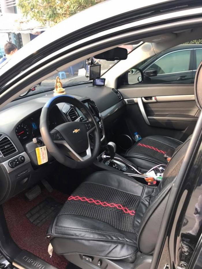 Cần bán xe Chevrolet Captiva Ltz 2016 tự động màu đen cọp 6