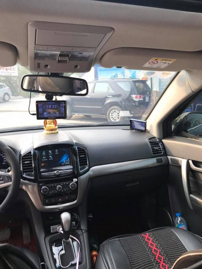 Cần bán xe Chevrolet Captiva Ltz 2016 tự động màu đen cọp 1