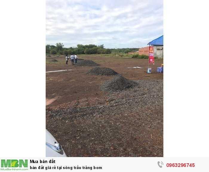 Bán đất giá rẻ tại sông trầu Trảng Bom