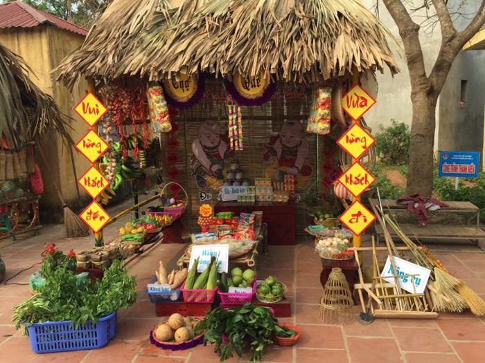 Tổ chức chợ quê, cho thuê gian hàng chợ quê