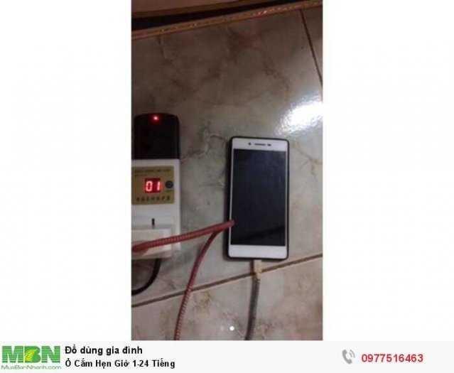 Ổ Cắm Hẹn Giờ Thông Minh , chống chai PIN điện thoại , tiết kiệm điện