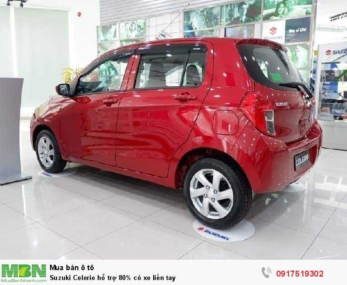 Suzuki Celerio hỗ trợ 80% có xe liền tay 2