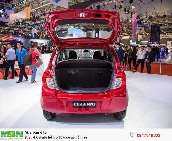 Suzuki Celerio hỗ trợ 80% có xe liền tay 4