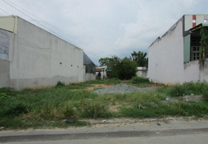 Đất MT QL1A, gần Chợ Bình Chánh, dt 6x18m, shr.