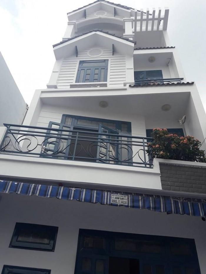 Bán nhà HXH 5m đường Lê Quang Định p.11 quận Bình Thạnh. Giá 6,5tỷ.