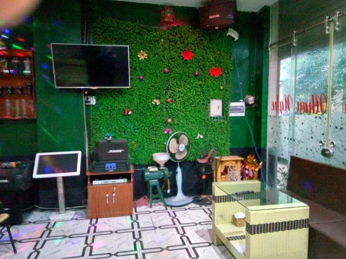Sang nhượng quán cafe karaoke hát cho nhau nghe DT 40 m2 hai mặt tiền 4 m & 4 m Khu Đồng Dưa