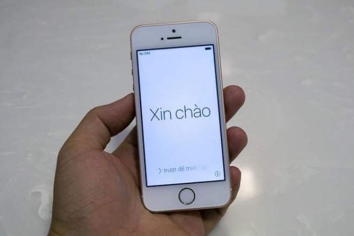 iPhone se 16bg zin hồng vàng1