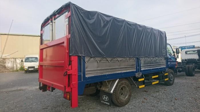 Bán xe tải Hyundai 7t thùng bạt bửng nâng giao ngay, giá rẻ