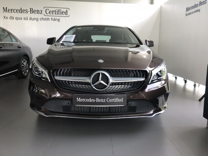 Bán Mercedes-Benz CLA200 2017 Cũ, Màu Nâu..Chính Hãng Giao Ngay