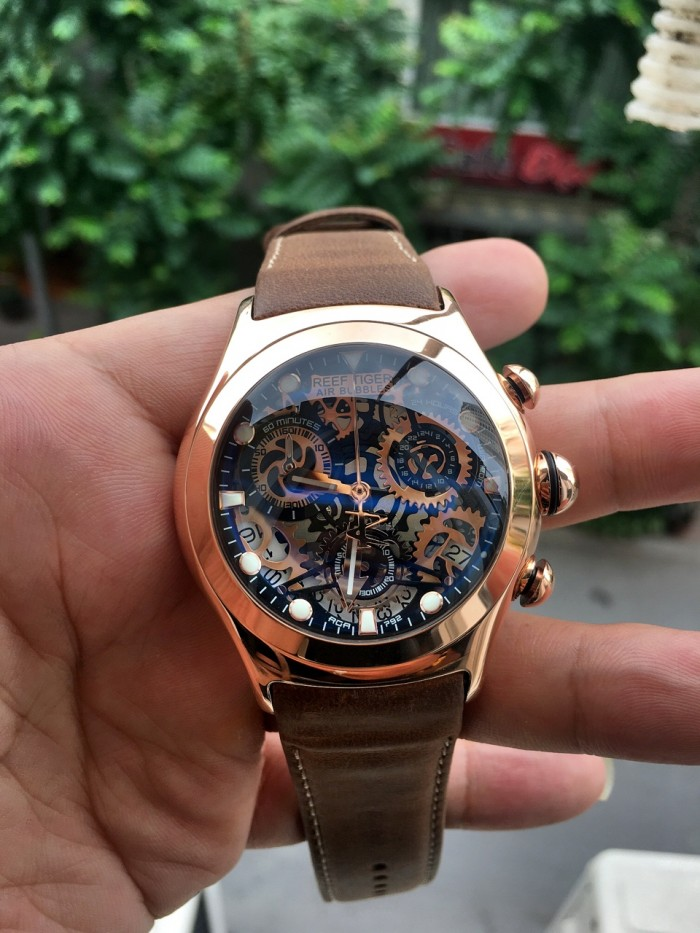 Đồng hồ nam REEF TIGER RGA792 rose gold1