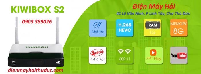 Android Kiwibox S2 bán giá 790K tại Điện Máy Hải là Đại lý nhà phân phối chính hãng Android TV Box Kiwi1