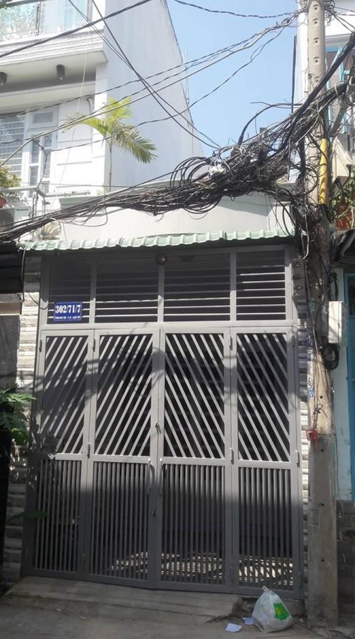 Nhà bán đường Phan Huy Ích ,p12 Gò Vấp ,dt 3x11 nhà đúc 1 lửng,2 phòng ngủ, phòng khách ,