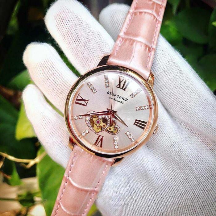 Đồng hồ nữ REEF TIGER RGA 1580 hồng