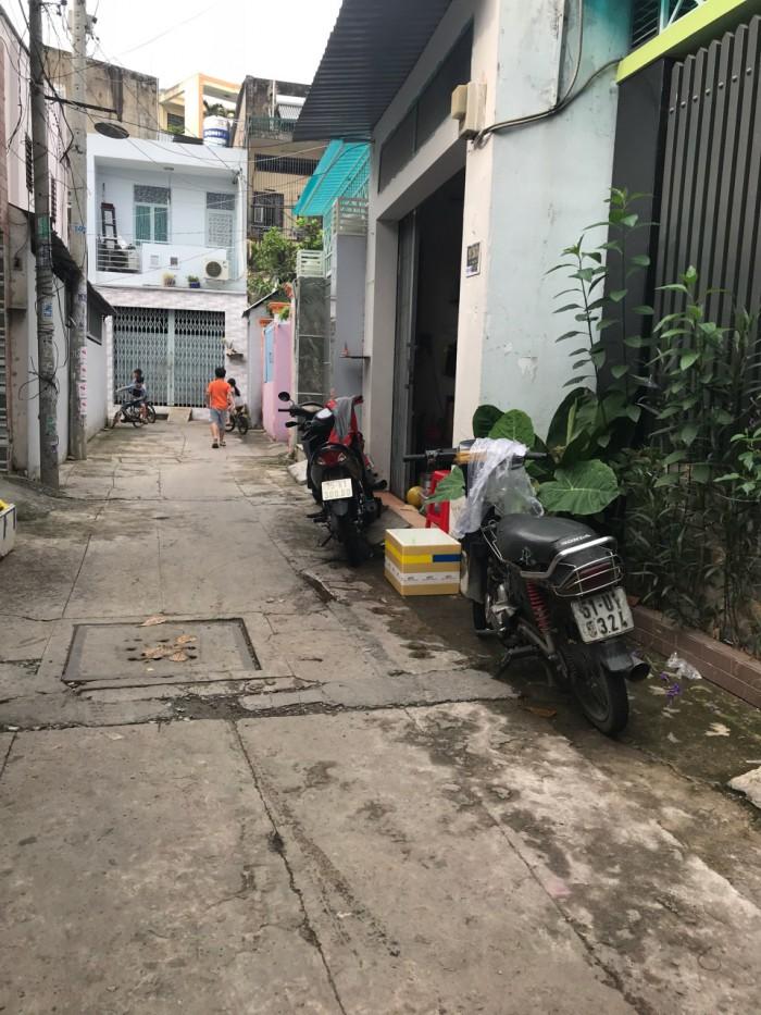Bán nhà hẻm thông 4M Trần Tấn ra Nguyễn Văn Săng, 4x13m, cấp 4 - Q.Tân Phú