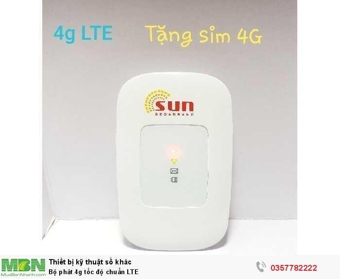Bộ phát 4g tốc độ chuẩn LTE2