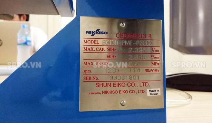 Máy bơm định lượng Nikkiso BX30 PCF F
