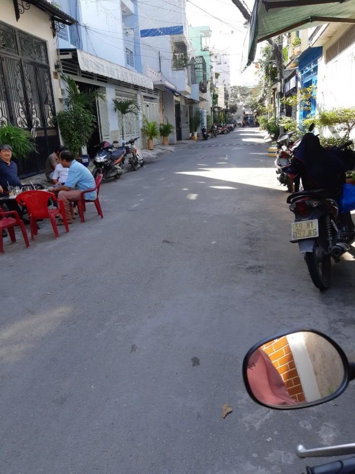 Bán nhà hẻm 6m thông đường Thoại Ngọc Hầu 4x14m 2 lầu 5PN