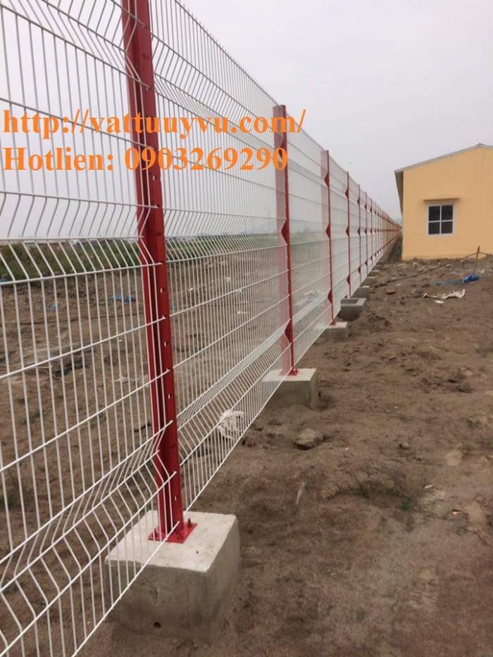 Sản xuất thi công hàng rào lưới thép mạ kẽm - sơn tĩnh điện phi 4, phi5, phi 6,.... phi 11, phi 124