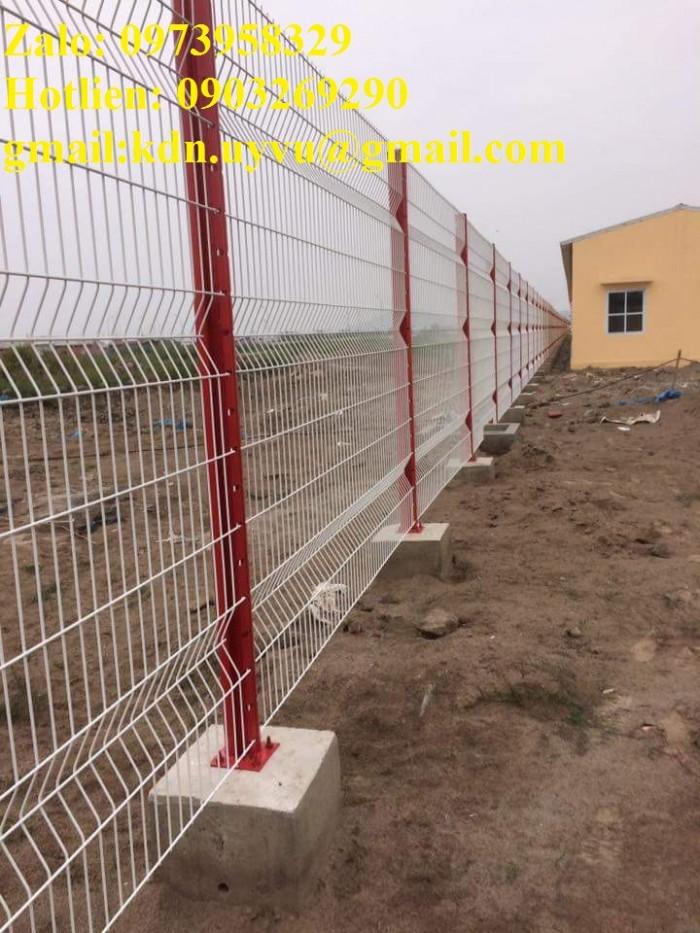 Sản xuất thi công hàng rào lưới thép mạ kẽm - sơn tĩnh điện phi 4, phi5, phi 6,.... phi 11, phi 123