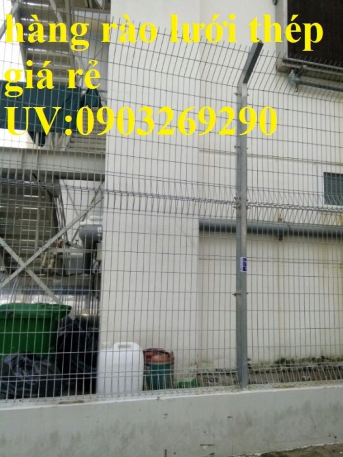 Sản xuất thi công hàng rào lưới thép mạ kẽm - sơn tĩnh điện phi 4, phi5, phi 6,.... phi 11, phi 121