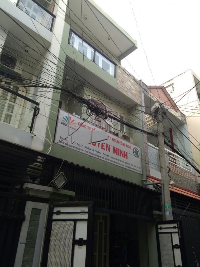 Chính chủ cần bán nhà HXH Đ.Tân Qúy,dt 4x16m, 3.5 tấm,p Tân Qúy