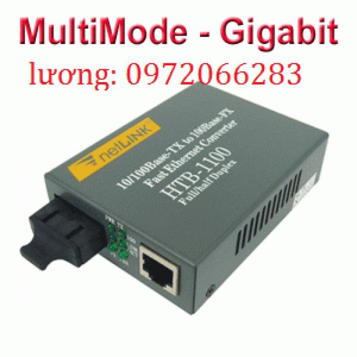 Bộ chuyển đổi converter quang 1Gb Netlink HTB-GM-032