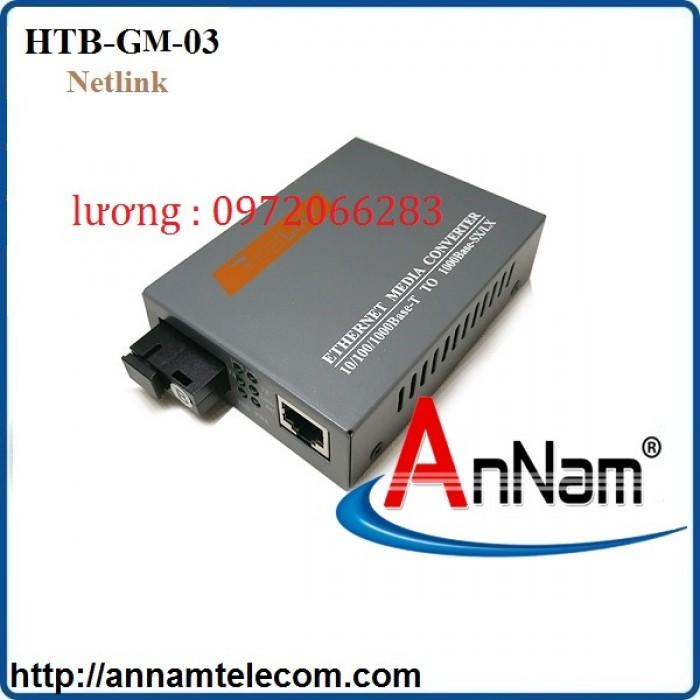 Bộ chuyển đổi converter quang 1Gb Netlink HTB-GM-030