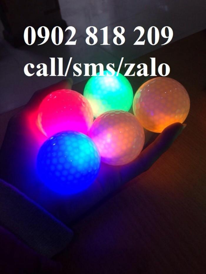 Banh golf phát sáng, banh golf sáng nhấp nháy3