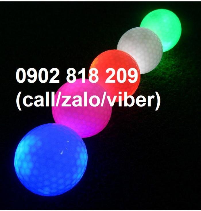 Banh golf phát sáng, banh golf sáng nhấp nháy2