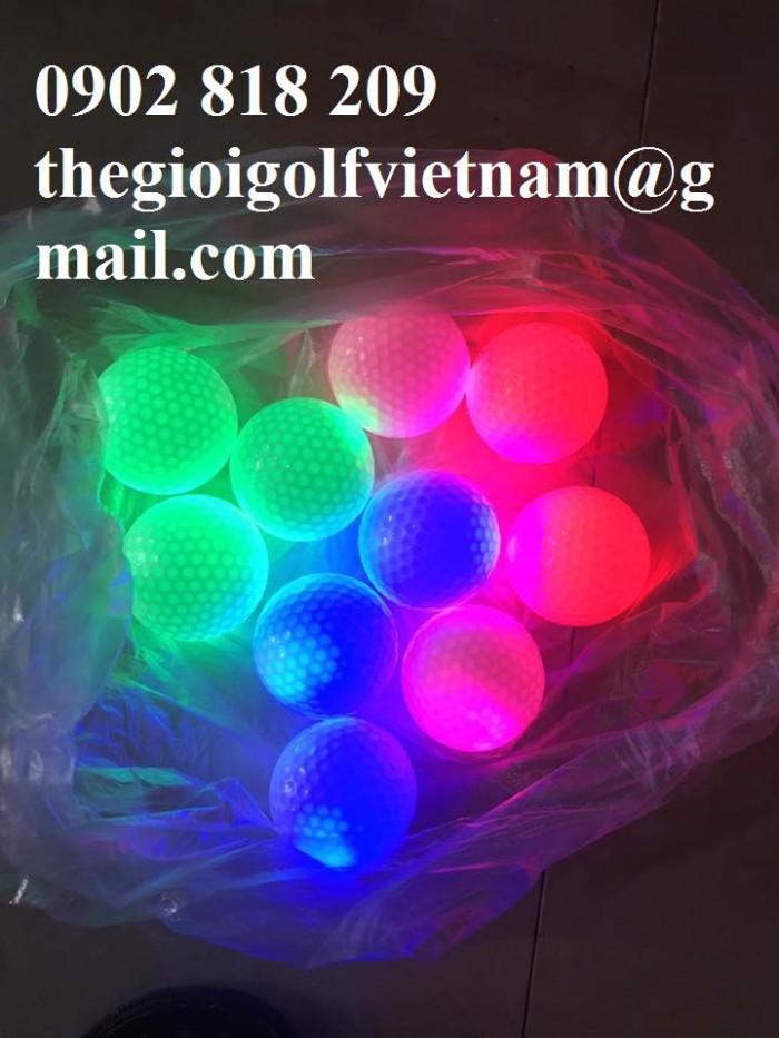 Banh golf phát sáng, banh golf sáng nhấp nháy4