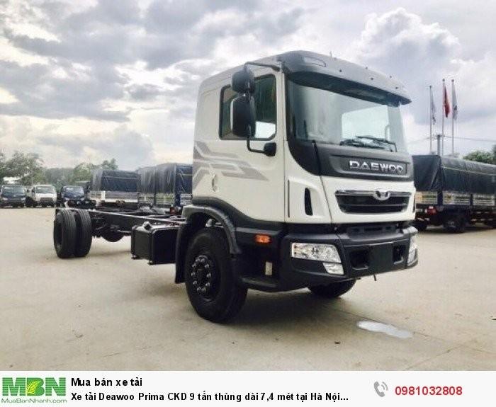 Xe tải Deawoo Prima CKD 9 tấn thùng dài 7,4 mét 0