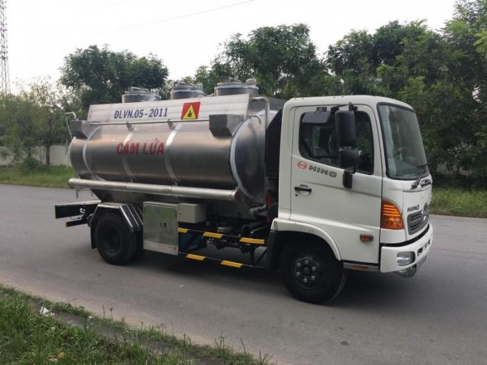 Xe Bồn Xăng Dầu Hino 8m3 (8 khối) 2