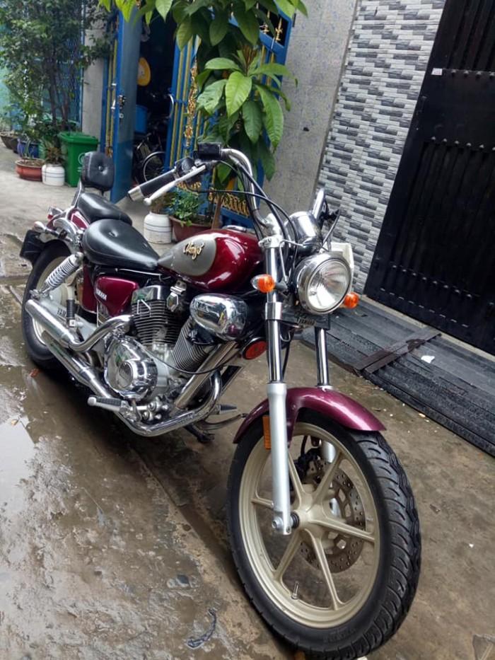 Moto Yamaha Virago 125c xe nhập mới 95% 1 chủ sử dụng nguyên zin xe đẹp máy êm chạy mạnh vọt lợi xăng
