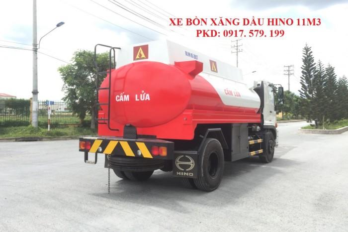 Xe Bồn Xăng Dầu Hino 11m3 (10 khối, 11 khối) 7