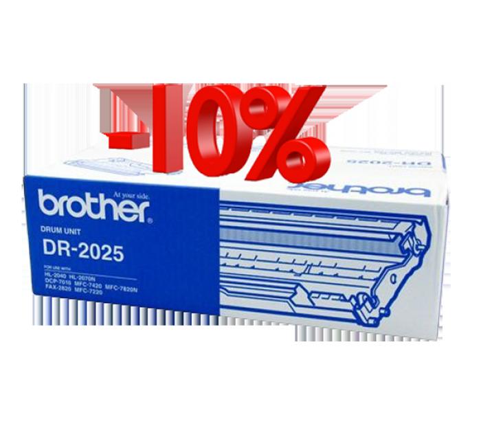 CỤM TRỐNG BROTHER DR 2025 dùng cho các dòng máy Brother: MFC 7420/7820 , DCP 7010, HL 2040/2820/2070.5
