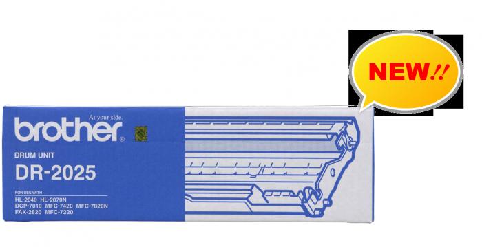CỤM TRỐNG BROTHER DR 2025 dùng cho các dòng máy Brother: MFC 7420/7820 , DCP 7010, HL 2040/2820/2070.3