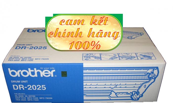 CỤM TRỐNG BROTHER DR 2025 dùng cho các dòng máy Brother: MFC 7420/7820 , DCP 7010, HL 2040/2820/2070.1