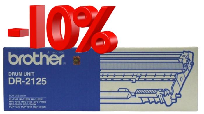 CỤM DRUM BROTHER DR 2125 dùng cho các dòng máy Brother:  HL 2140, MFC 7340/7840/7840W, DCP70305