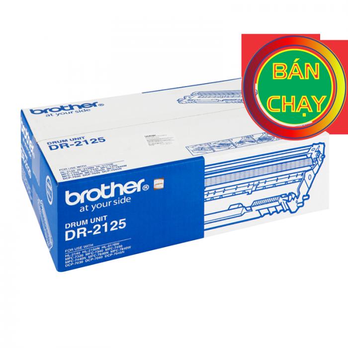 CỤM DRUM BROTHER DR 2125 dùng cho các dòng máy Brother:  HL 2140, MFC 7340/7840/7840W, DCP70304