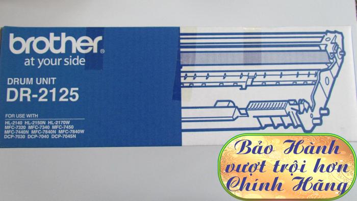 CỤM DRUM BROTHER DR 2125 dùng cho các dòng máy Brother:  HL 2140, MFC 7340/7840/7840W, DCP70301