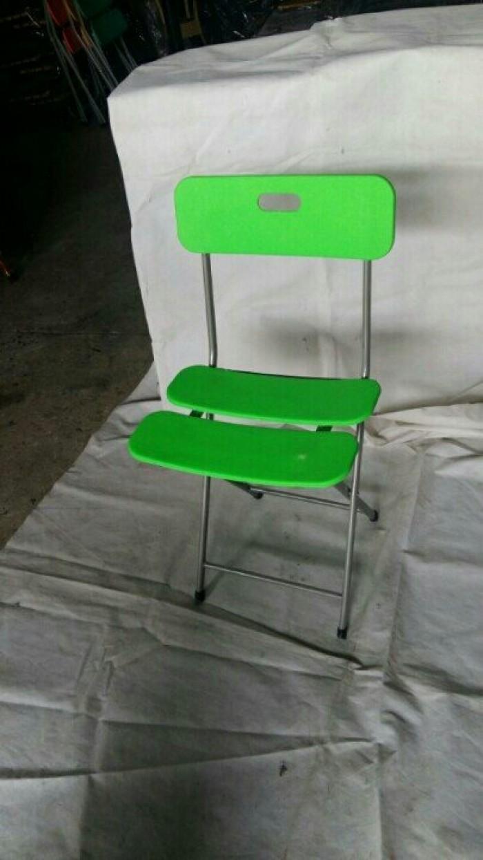 bàn ghế xiếp ba lá  giá  tại xưởng sản xuất HGH 0099
